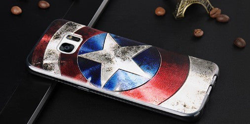 Captain America 3D Case (Samsung S7 Edge)