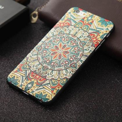 Floral Art 3D Case (iPhone 6 Plus)