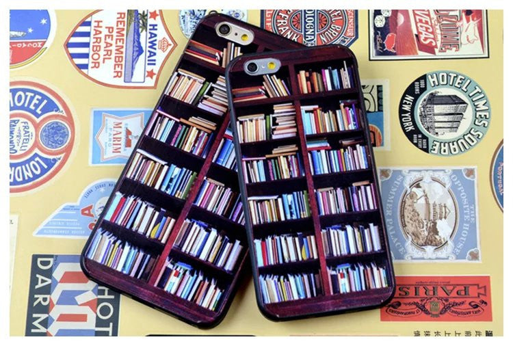 Book Shelf Design Case (iPhone 6) - Chikili.com