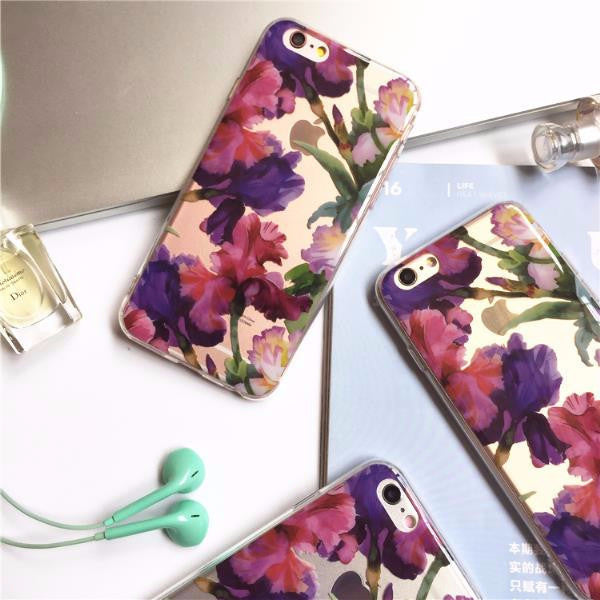 Floral Clear Case (iPhone 6) - Chikili.com