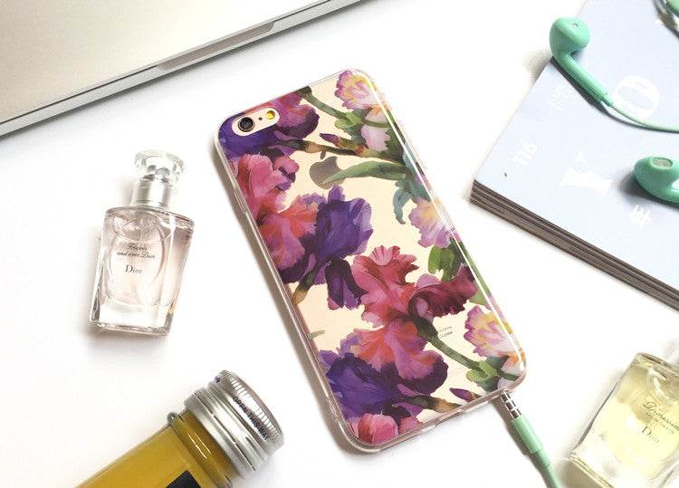 Floral Clear Case (iPhone 6)