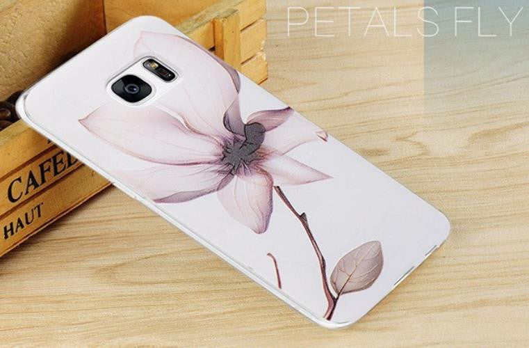 Petals Fly - Stereoscopic Relief Art 3D Case (Samsung S7)