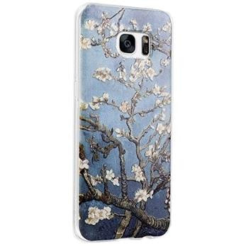 Apricot Flower - Stereoscopic Relief Art 3D Case (Samsung S7 Edge) - Chikili.com