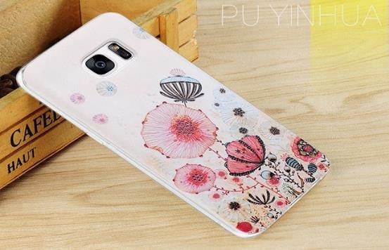 Pu Yinhua - Stereoscopic Relief Art 3D Case (Samsung S7)