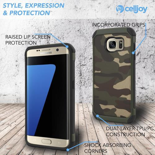 Army Camouflage Armor Case (Samsung S7 Edge)
