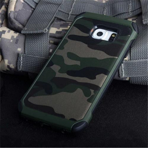 Army Camouflage Armor Case (Samsung S7)