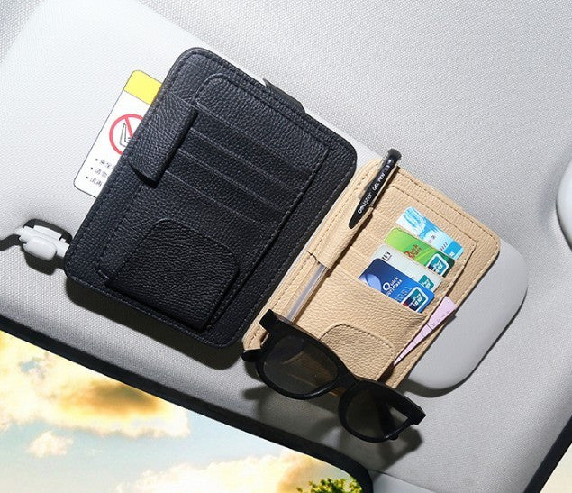 Sun Visor Storage Bag