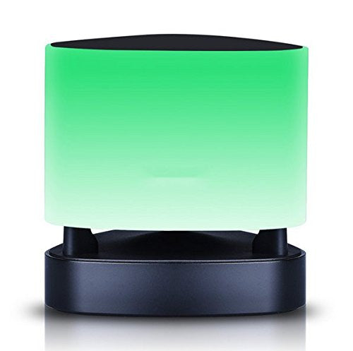 Bluetooth Speaker Mini Smart LED Light Night Lamp