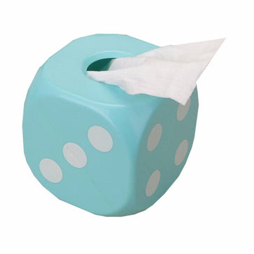 Luminous Tissue Box - Dice Pattern