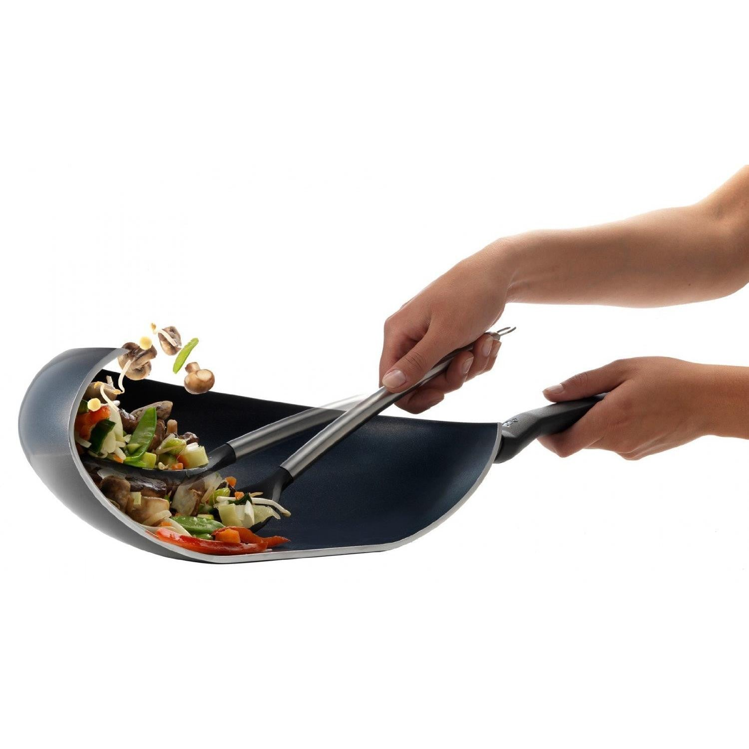 PK Easy Induction Wokarang Frying Pan