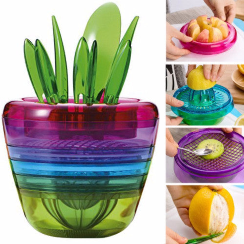 Creative Fruits Plant Multi Kitchen Tool Set