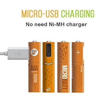 AAA micro USB Rechargeable Battery
