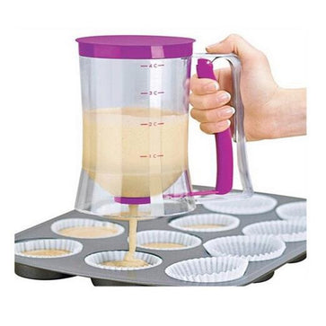 Batter Dispenser With Measuring Label