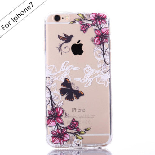 Flying Bird Transparent Case (iPhone 7) - Chikili.com