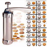 Cookie Press Kit – Stainless Steel Biscuit Press