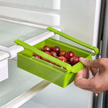 Refrigerator Storage Rack Pull-out Drawer Space saver