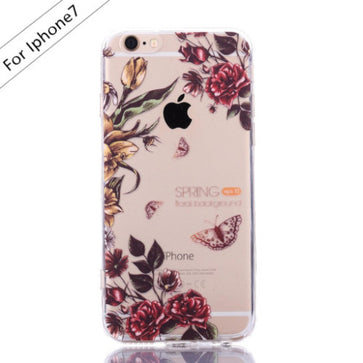 Butterflies Floral Case (iPhone 7)