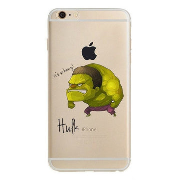 Hulk Clear Case (iPhone 6)