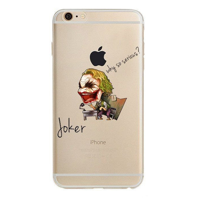 Joker Batman Clear Case (iPhone 6) - Chikili.com