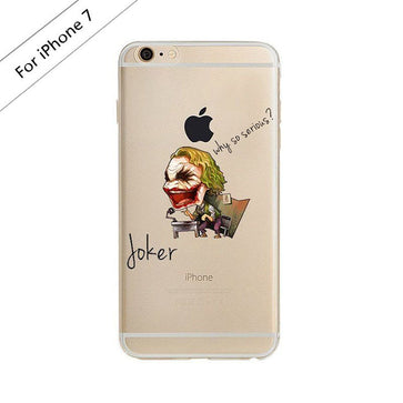Joker Batman Clear Case (iPhone 7)