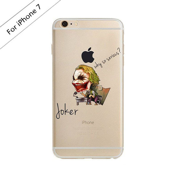 Joker Batman Clear Case (iPhone 7) - Chikili.com