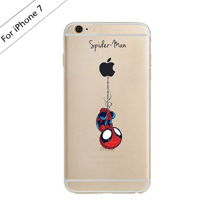 Spider-Man Clear Case (iPhone 7)