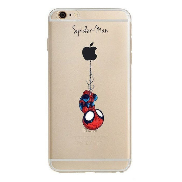 Spider-Man Clear Case (iPhone 6) - Chikili.com