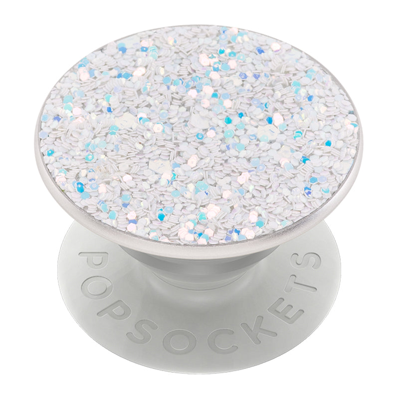 Sparkle Snow White Pop Grip