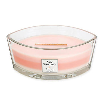 Woodwick Trilogy Ellipse Island Getaway Candle