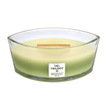 Woodwick Trilogy Ellipse Garden Oasis Candle