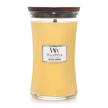 Woodwick Seaside Mimosa Large Hourglass Jar Candle