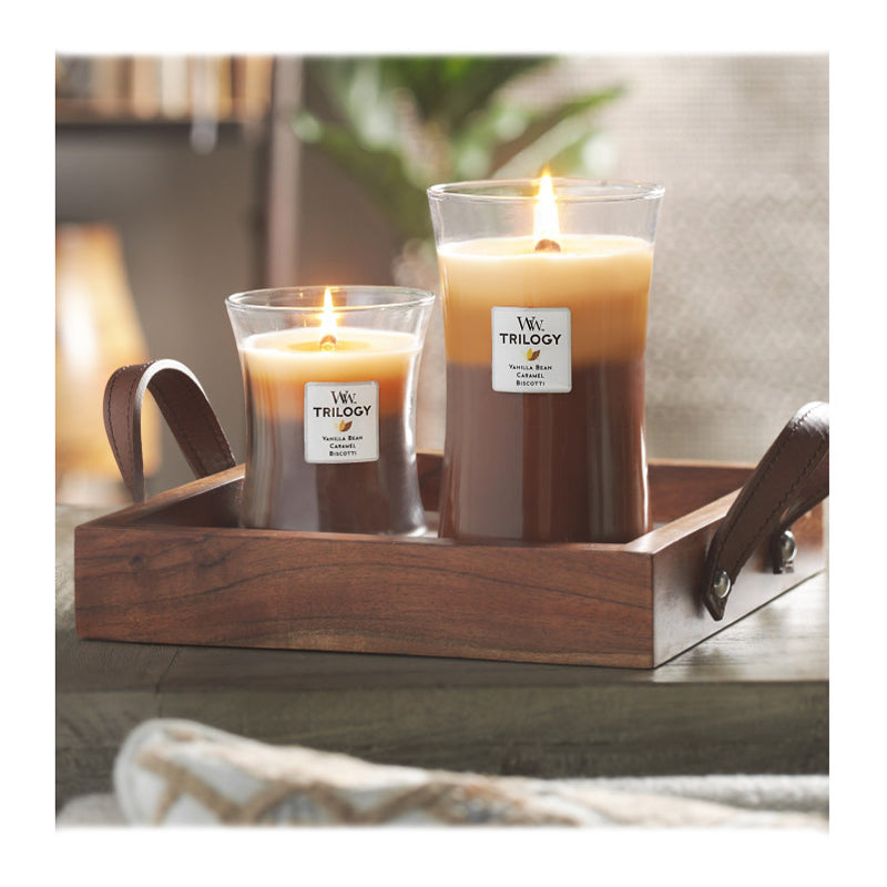WoodWick Trilogy Large Jar Candle Cafe Sweets