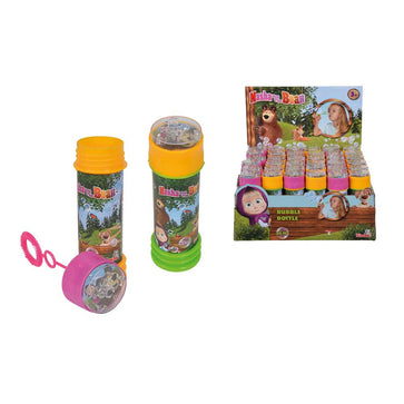 Simba Masha Bubble Bottle 60ml, 2-asst