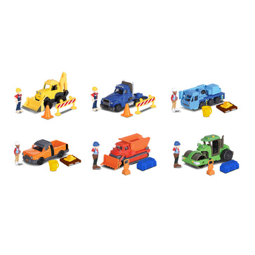 Dickie Bob The Builder Team Pack, 6-asst