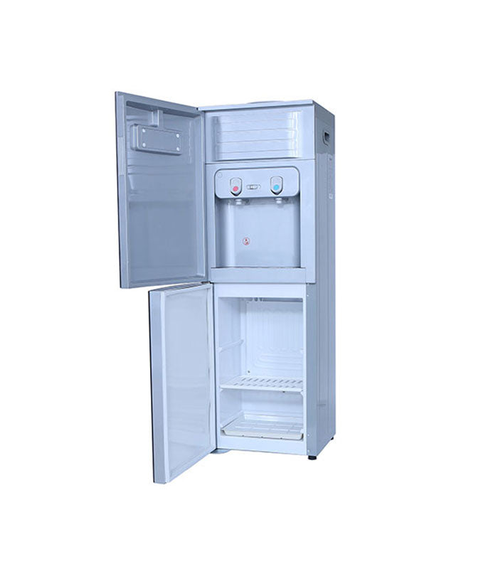 Geepas GWD8363 Hot and Cold Water Dispenser with Refrigerator