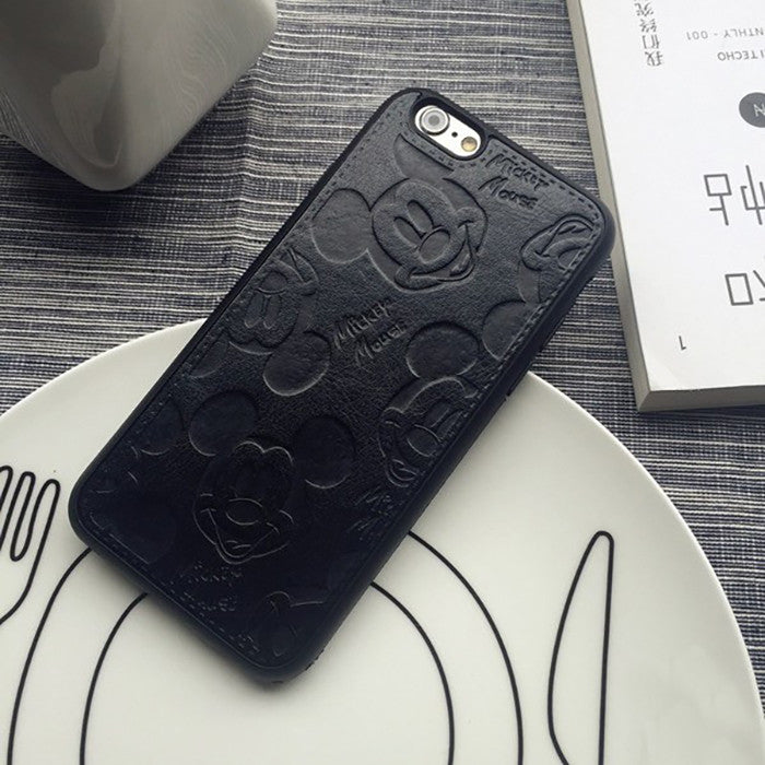 Mickey Mouse Leather Case (iPhone 8) - Chikili.com
