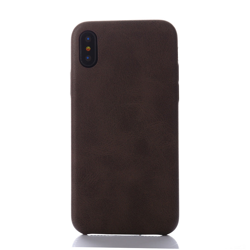 Retro Leather Case (iPhone X)