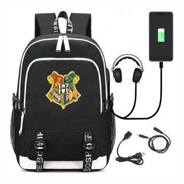 Harry Potter Backpack With USB Port