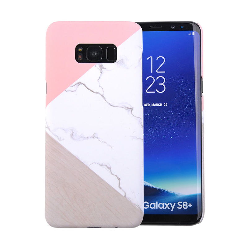 Spliced Marble Case (Samsung S8 Plus)