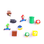 Super Mario Fridge Magnets (Set of 10)