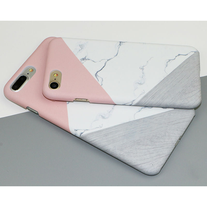 Spliced Marble Case (iPhone 8)