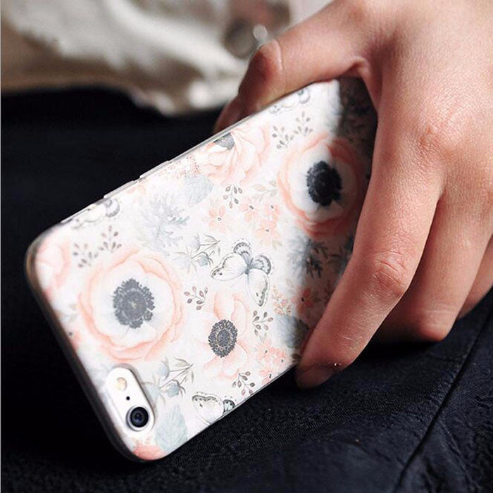 Vintage Floral Case Gift Set (iPhone 6 plus)