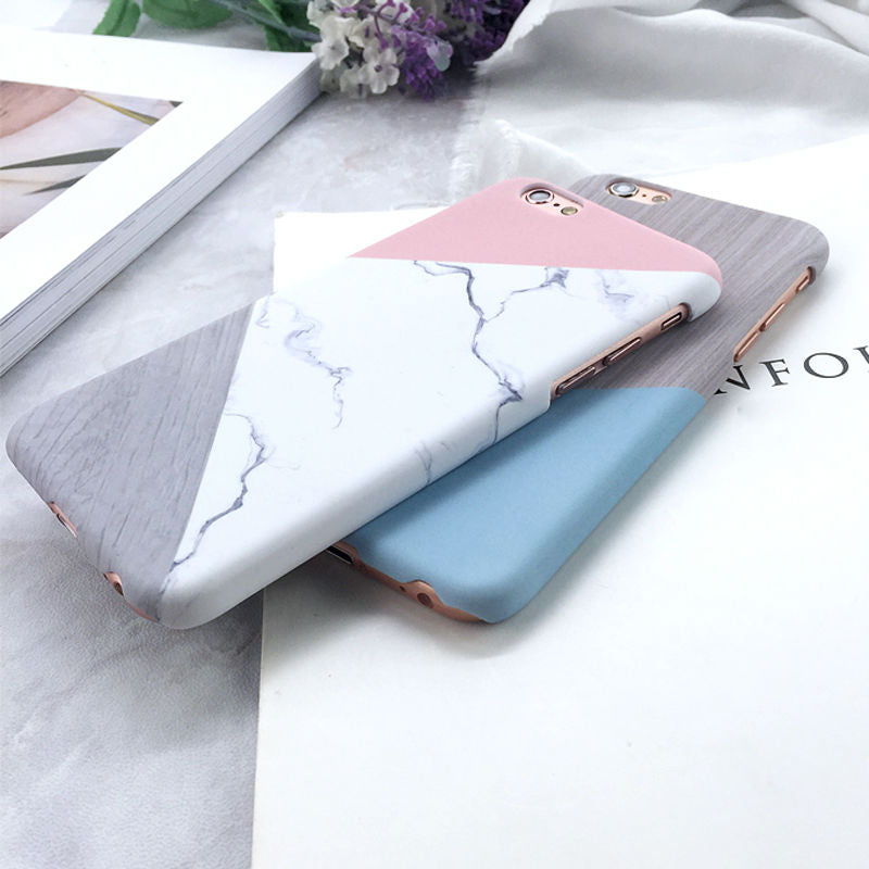 Spliced Marble Case (iPhone 6 Plus)