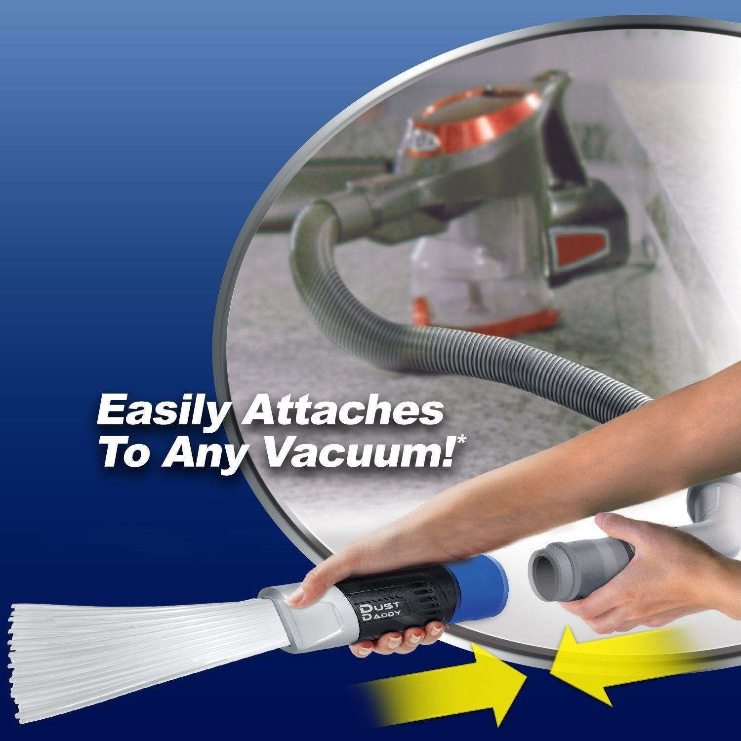 Dust Daddy Vacuum Cleaner Attachment
