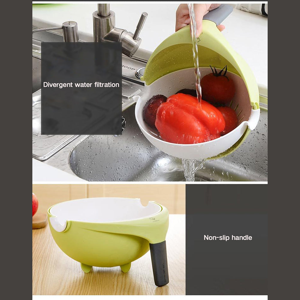 2 in 1 Strainer and Rinse Bowl Set