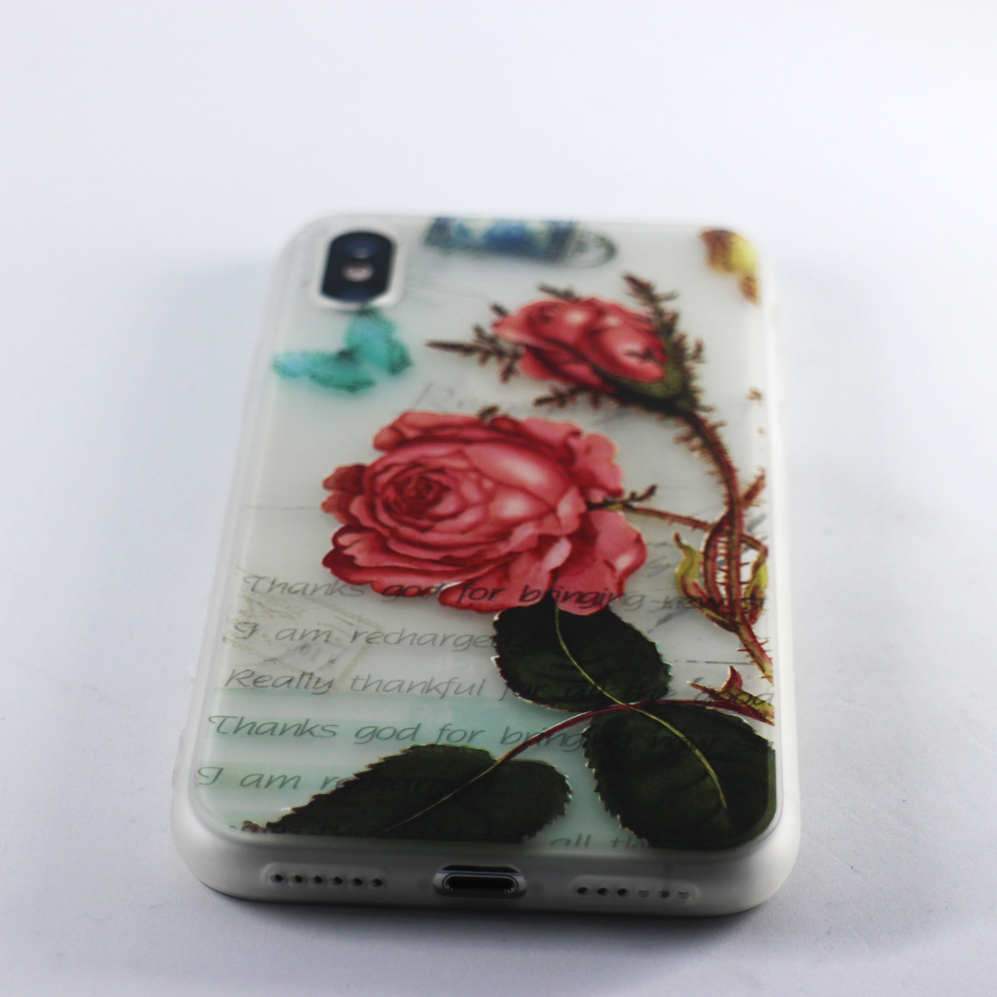 Red Rose Flower Case (iPhone X)