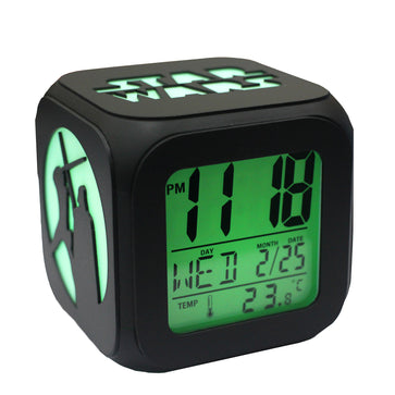 Star Wars LED Alarm Clock