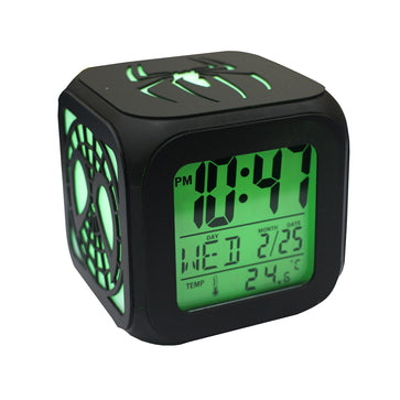 Spiderman LED Alarm Clock