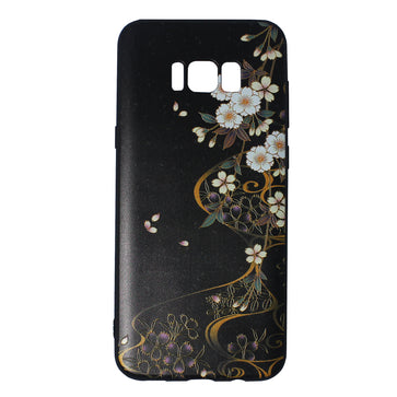 Black Floral Case ( Samsung S8 Plus)