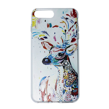 Colorful Deer Case ( iPhone 7 Plus)